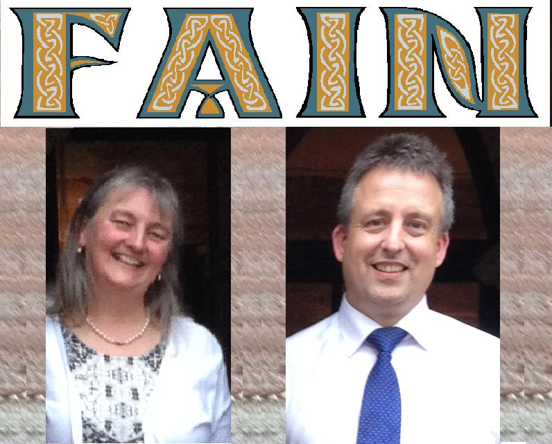 Fain, a duo play dance tunes, laments & airs, old & new from Scotland, Ireland & Cumbria